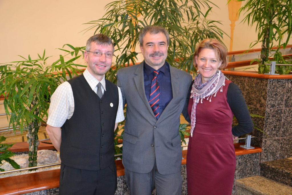 Speciální seminář o výživě, na kterém pan doc. Mudr. Pavel Kohout, PhD. přednášel